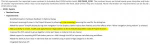 Revit 2018.1 Update Download Link, brings Browser Organisation for Schedules
